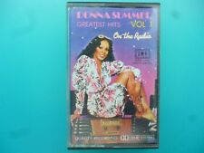"DONNA SUMMER  "" ON THE RADIO - GREATEST HITS VOL. 1  ""  CASSETTE IMPORT"