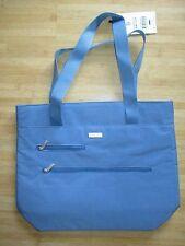 NEW Baggallini TRAVEL Hobo Shopper Tote BAG HANDBAG Blue
