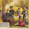 Picnic Florence Oil Stove Crown Sewing Machine Before & After With Without Card