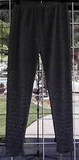 New Pretty Angel Studded Gray Knit Stirrup Leggings Sz. S/M