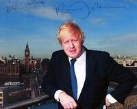 Boris Johnson - Foreign Secretary - Signed Autograph REPRINT
