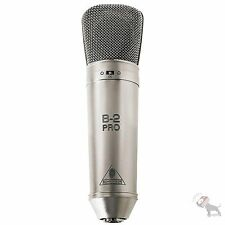 Behringer B-2 Pro Large-diaphragm Condenser Microphone w/ Shockmount Windscreen