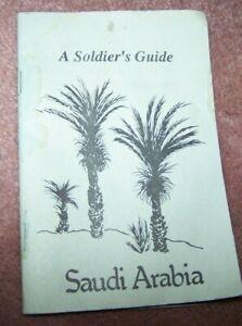 POCKET HANDBOOK, DESERT SHIELD / STORM, SOLDIER'S GUIDE, U.S. ISSUE *NICE*