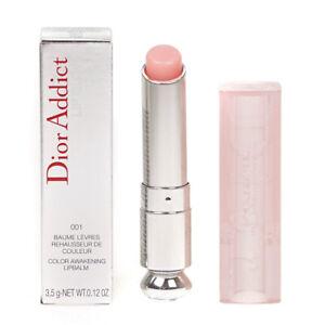 Dior Addict Lip Glow Balm Lipstick 001 Pink Colour Awakening Lipbalm - New