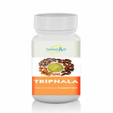 Herbal Aid Triphala -  500mg Extract 60 Capsules Healthy Digestive System