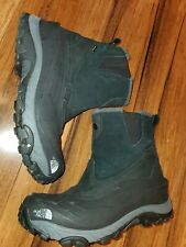 Men's THE NORTH FACE black Waterproof HEAT SEEKER Snowboots - Size 10