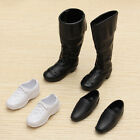 3 Pairs Dolls Cusp Shoes Sneakers Knee High Boots For Barbie Boyfriend Ken Child