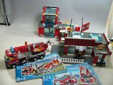 167| Lego Feuerwehrstation 7945 Gebäude + Feuerwehr-Auto - lesen