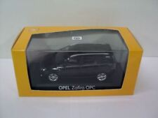 GENUINE Vauxhall Zafira B (Black) 1:43 Diecast Model Car by Minichamps