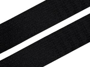 40-90 cm Gummiband 6 cm Schwarz Weiss hohe Zugkraft gewebt Rock Kleid Gürtel