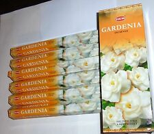 GARDENIA INCENSE 120 9.25 inch STICKS HAND ROLLED INCENSE HEM HI-20 (#54)