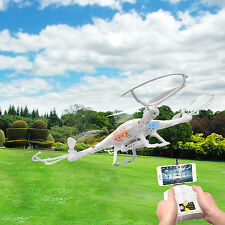 6 Axis Gyro 4 Motor 2.4Ghz RC WIFI FPV Quadcopter UFO w/ HD Camera Bonus