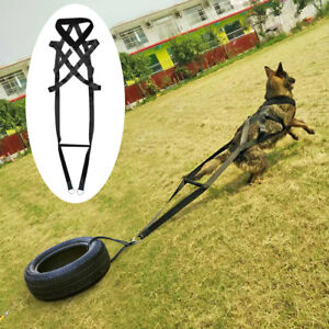 Dog Weight Pulling Harness Dog Sport and Exercises Tool for German Shepherd K9
