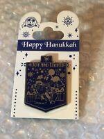Disney Pin - Happy Hanukkah 2015 - Joy and Light - Mickey Mouse Dreidel