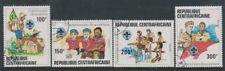 Central African Rep - 1982, Anniversary of Boy Scouts set - CTO - SG 815/18