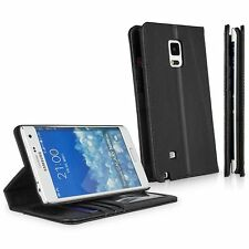 Boxwave Genuine Premium Leather Wallet Card Case - Samsung Note Edge (Nero)
