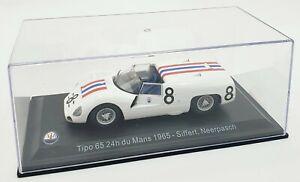 EBOND Maserati TIPO 65 24h du Mans 1965 - Siffert, Neerpasch - Scala 1:43 S046.