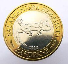 WALENTINES DAY BIMETALLIC UNC POLAND CHEŁMNO 7 WALENTYNEK 2009 LOVERS CITY