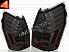 2005-2008 DODGE MAGNUM SMOKE LED TAIL LIGHTS LH+RH LAMPS 05 06 07 08