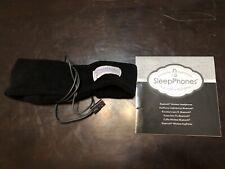 Sleeppones headband headphones used