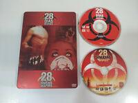 28 Dias Despues - 28 Semanas Despues - 2 x DVD Steelbook Terror Español English