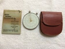 FOWLERS Universal Calculator with instructions and case excellent condition