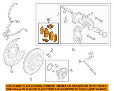KIA OEM 14-16 Forte Brake-Rear Pads 58302A7B30