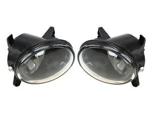 Front Left & Right Hella Fog Lights Lamps Pair Set For Audi A6 Quattro S6 S-Line
