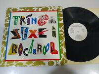 "Die Zurrgurte Sexe I Rock'n'Roll 1986 Ariola - LP vinyl 12 "" VG/VG Merchandise"