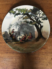 Royal Doulton Plate, Old English Scenes, The Gipsies # D 3191 A.
