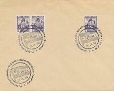 ÖSTERREICH SONDERSTEMPEL 1936 WIEN 7. Internationale Briefmarken-Händler-Tagung