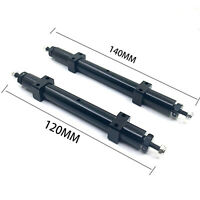 Metal Non-powered Rear Wheel Axle for 1/14 TAMIYA RC Car Tractor Trailer Truck