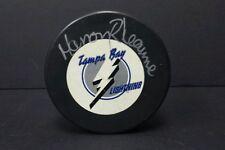 Manon Rheaume signed / auto  Tampa Bay Lightning  hockey puck
