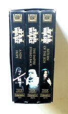 Star Wars Trilogy VHS 2000 A New Hope Empire Strikes Back Return of Jedi Box Set
