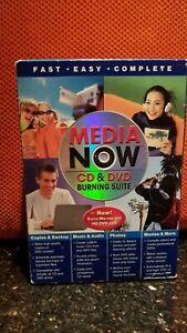 Media Now CD & DVD Burning Suite Burns Blu-ray & HD DVD