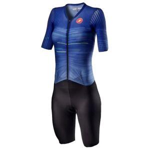 Women's Castelli PR Speed Suit - Lapis Blue - Size Small - RRP £299