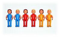 Puppenkinder im Freizeitanzug  -  Satz mit 6 verschiedene Varianten von 1984