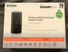 D-Link Cloud Router 3000 (DIR-855L) Wireless N900 Dual Band Gigabit Media Box