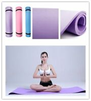 """6mm Thick Non-Slip Yoga Mat Exercise Fitness Lose Weight 68""""x24""""x0.24"""" HOT O@"""