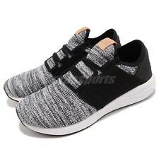 New Balance Fresh Foam Cruz White Black Grey Men Running Casual Shoes MCRUZKW2 D