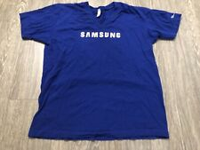 Samsung V-Neck T-Shirt Large SRA Research America Used