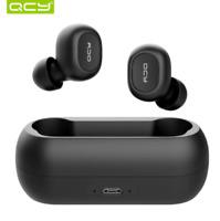 QCY QS1 T1C écouteur sans fil Bluetooth 5.0 son stéréo 3D Noir Double Microphone