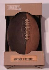Vintage Football of Synthetic Pigskin by Refinery and Company