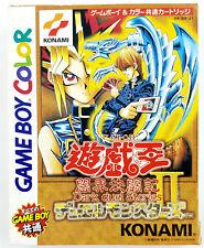 Yu Gi Oh Duelo Monstruos II 2 - Nintendo Game Boy - Completo - NTSC-J / JAP