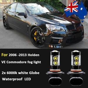 for Holden Commodore VE 2006-2013 Fog Light Globe Bulb white Waterproof CREE LED