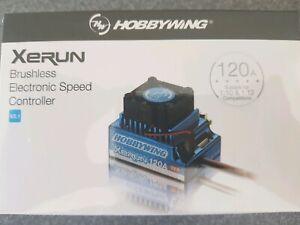 Hobbywing Xerun V2.1 120 amp Sensored/Sensorless Genuine product sealed.