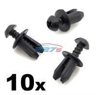 10x Plastic Trim Fastener Clips- Used on Mini Bumpers, Trim, Shields & Spliiters