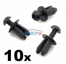 10x Plastic Trim Fastener Clips- Used on Mini Bumpers, Trim, Shields & Spliiters