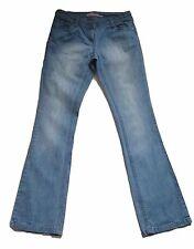 New Womens Blue Bootcut NEXT Jeans Size 10 Regular Leg 30 LABEL FAULT