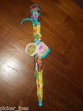 "NEW 2013 Disney Doc McStuffins ""Smiles & Hugs"" Child's Umbrella 28"" Diameter"